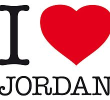 I ♥ JORDAN by eyesblau