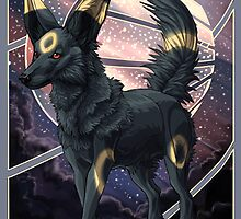 Umbreon - Art Noveau by Speras