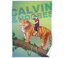 Calvin & Hobbes BADASS Poster
