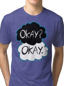 Okay? Okay.  Tri-blend T-Shirt
