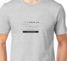 Japanese Proverb Unisex T-Shirt