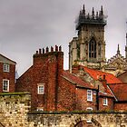The rooftops of York by Tom Gomez