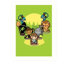 Once Upon A Time: Oz Art Print