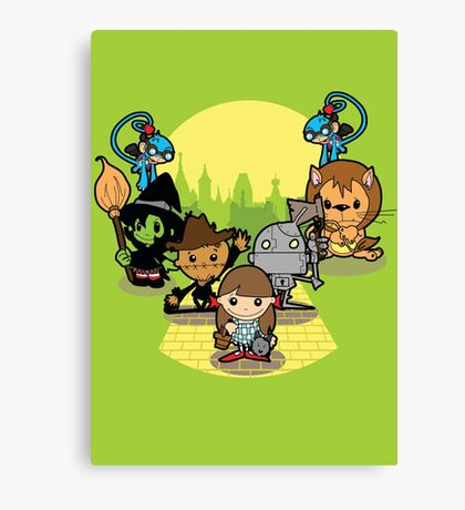 Once Upon A Time: Oz Canvas Print