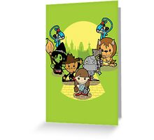 Once Upon A Time: Oz Greeting Card