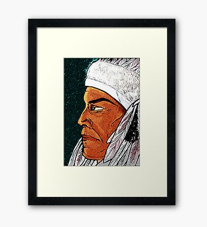 Native Framed Print