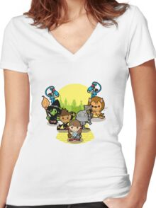 Once Upon A Time: Oz Women's Fitted V-Neck T-Shirt