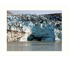 Glacial Melt Art Print