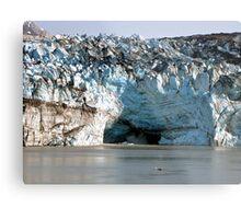 Glacial Melt Metal Print