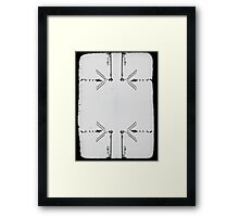 tv rules the Nation Framed Print