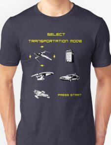 Sci-fi Transportation Modes 1 T-Shirt