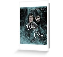 """The Moth and the Crow""  Books of Belshalara, Book Two Greeting Card"