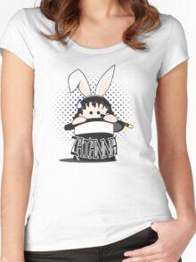 taH eht ni tibbaR ehT Women's Fitted Scoop T-Shirt