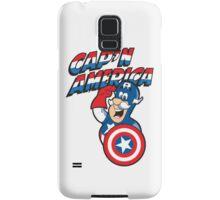 Cap'n America Samsung Galaxy Case/Skin