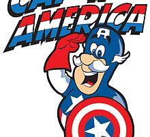 Cap'n America by joebarondesign