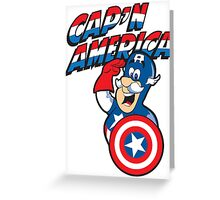 Cap'n America Greeting Card