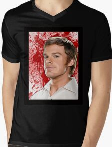 Dexter  Mens V-Neck T-Shirt