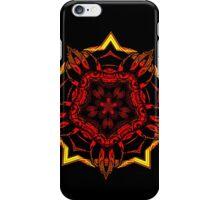 black vs red vs yellow iPhone Case/Skin