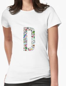 BS ABC's: D Womens Fitted T-Shirt