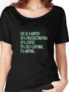 life as a writer Women's Relaxed Fit T-Shirt