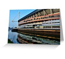 Millennium Stadium, Cardiff - Birthday Card Son Greeting Card