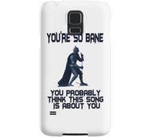 Batman So Bane Funny Meme Samsung Galaxy Case/Skin