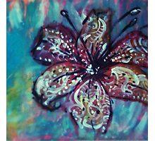Energetic Flower Photographic Print