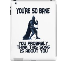 Batman So Bane Funny Meme iPad Case/Skin