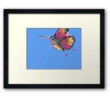 Today's Weather Report - Kite Weather Framed Print