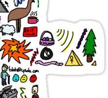 BS ABC's: E Sticker