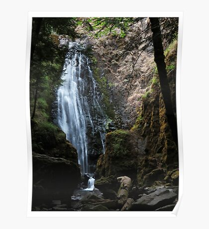 Susan Creek Falls, Oregon  Poster