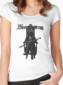 Bloodborne - Old Hunters Women's Fitted Scoop T-Shirt