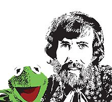 Jim Henson and Kermit by Kelmo