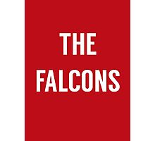 The Falcons  Photographic Print