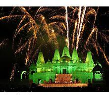 Diwali Festival at Hindu Temple Photographic Print