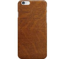 Zebra Wood iPhone Case/Skin