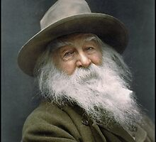 Walt Whitman, 1887 by Dana Keller
