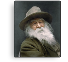 Walt Whitman, 1887 Canvas Print