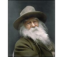 Walt Whitman, 1887 Photographic Print