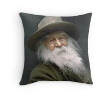 Walt Whitman, 1887 Throw Pillow