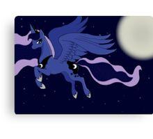 MLP FIM Princess Luna Print Canvas Print