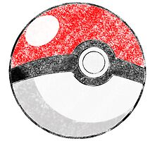 Basic Poké Ball by bobknarwhal