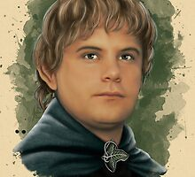Samwise of the Fellowship by Art-by-Aelia