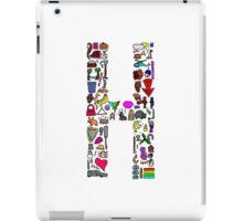 BS ABC's: H iPad Case/Skin