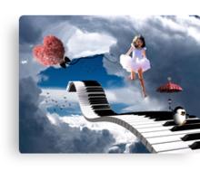 Free Falling.... Canvas Print