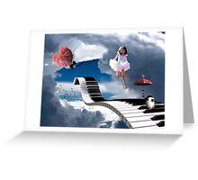 Free Falling.... Greeting Card