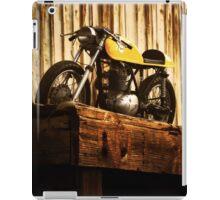Cafe Racer on the Loading Dock iPad Case/Skin