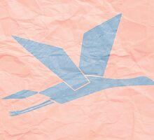 Paper Crane by Daniel Campagna