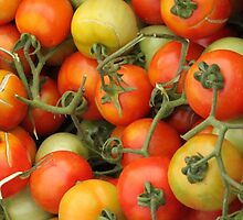 Tomatoes in the Barcelona Market by francesca2
