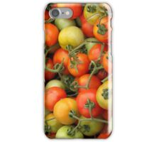 Tomatoes in the Barcelona Market iPhone Case/Skin